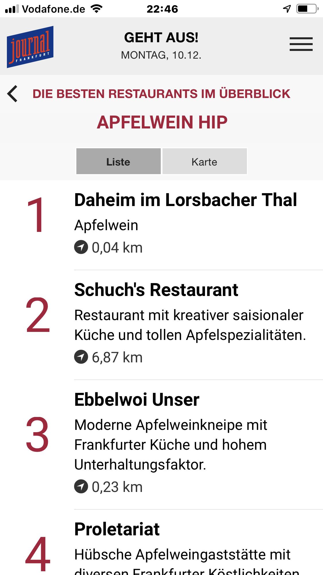 Daheim Lorsbacher Thal